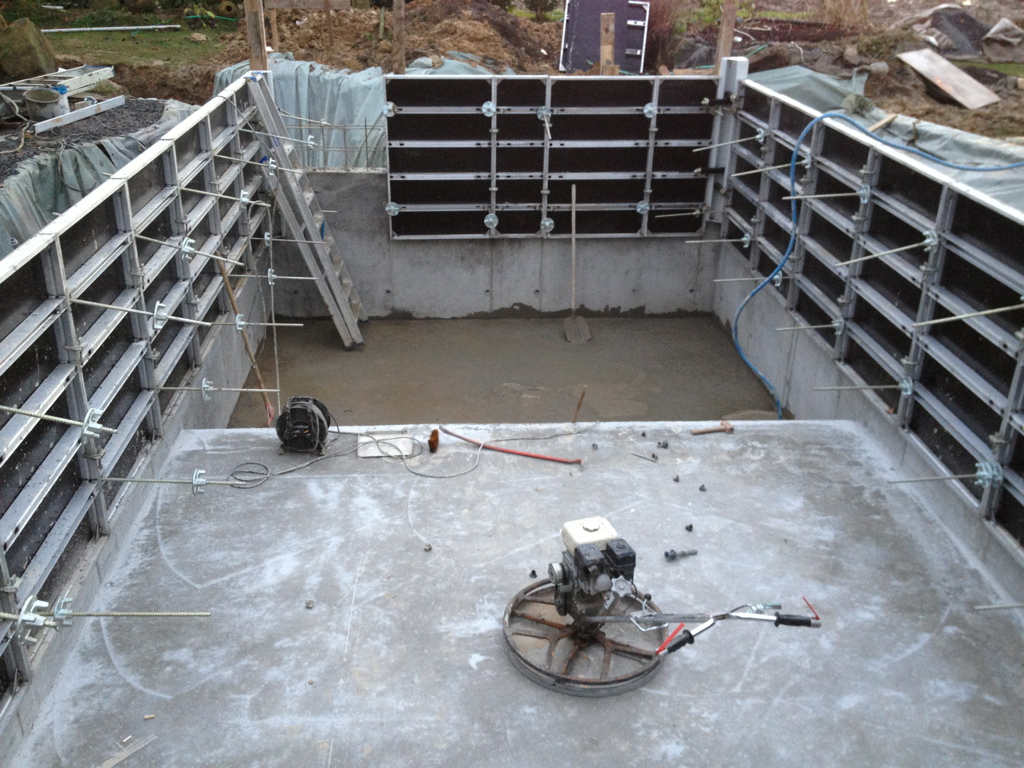 Construction piscine pool conception for Cout construction piscine beton