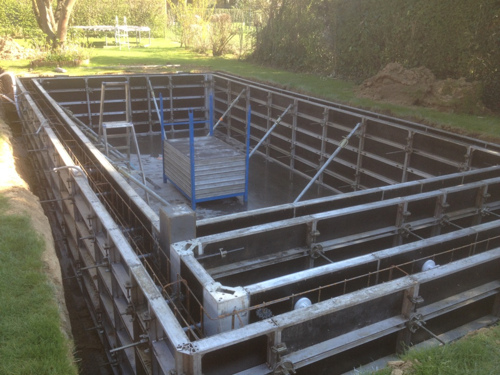 Construction piscine soignies pool conception Conception piscine