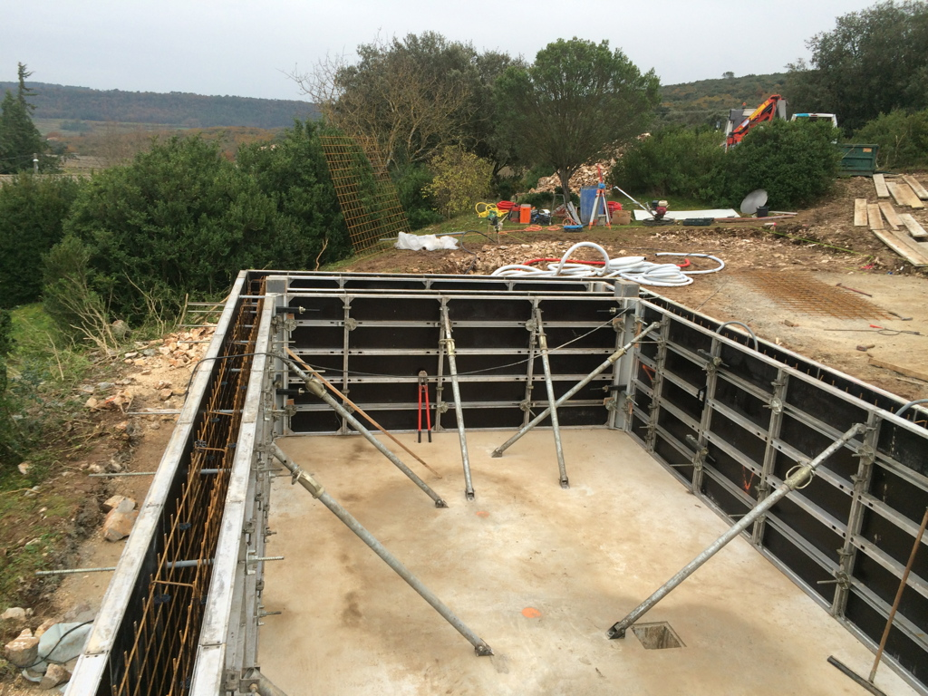 Construction piscine pool conception for Construction piscine 91
